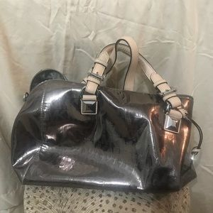 Michael Kors purse...bronze in color...